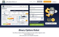 Binary Options Robot web
