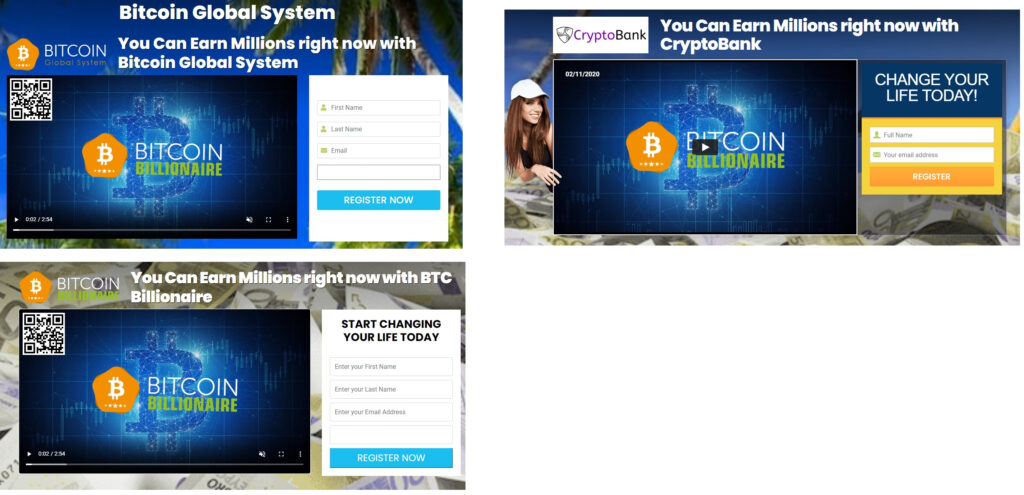 Bitcoin Global System arnaque