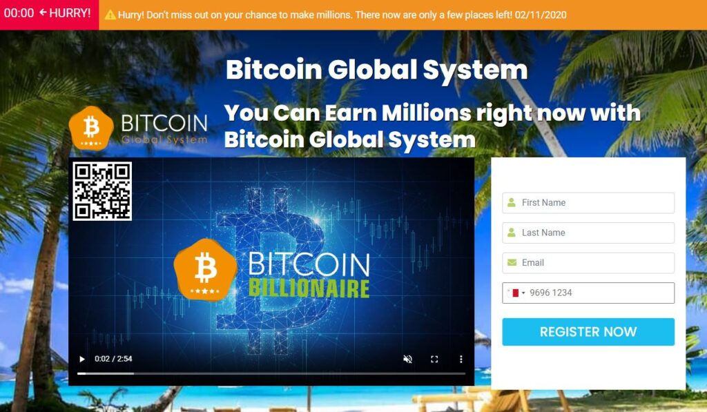 Avis sur Bitcoin Global System